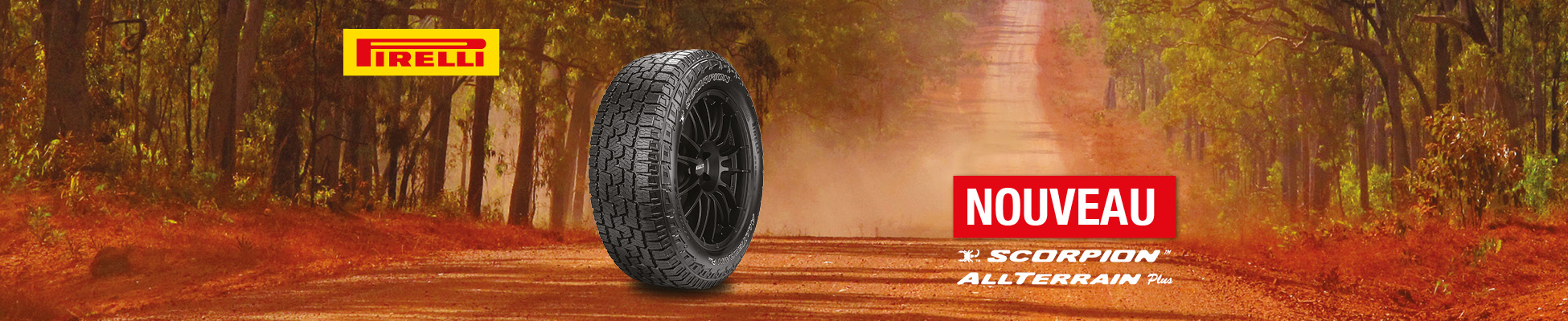 Pneu Pick-up Pirelli Scorpion All Terrain Plus