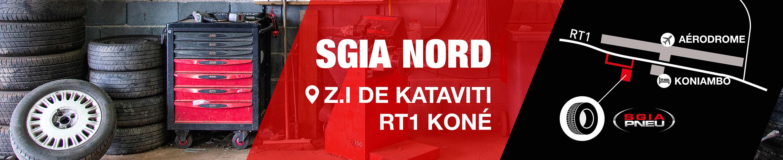 Centre de montage pneus Koné